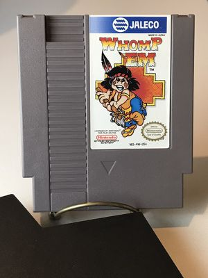 Whomp 'Em Nintendo 1985 NES Complete CIB rare collectible for Sale in Silver Spring, MD