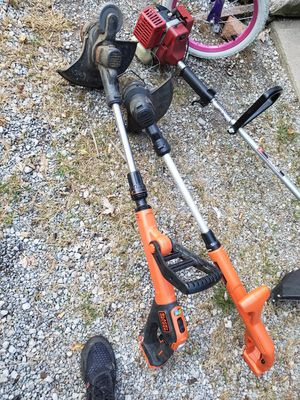 2 black n decker cordless trimmers(I have charger but no battery) for Sale in Mount Vernon, OH