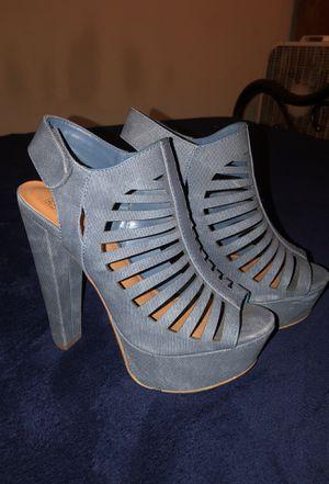 Blue Demin size 8.5 Heels for Sale in Murfreesboro, TN