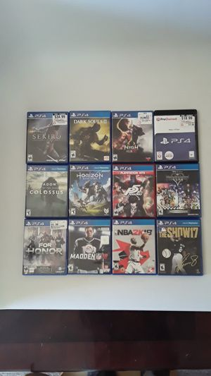 PS4 GAMES for Sale in Bothell, WA