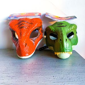 Jurassic World T Rex + Velociraptor Movable Jaw Mask Set for Sale in Inglewood, CA
