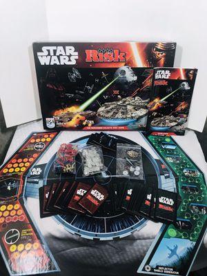 Disney Hasbro Star Wars RISK Board Game 100% complete for Sale in Pawtucket, RI