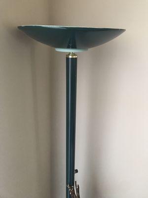 Tall green lamp for Sale in Nashville, TN