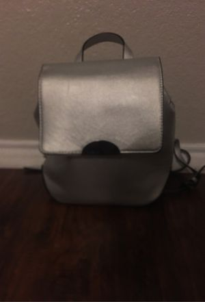 Silver mini backpack for Sale in Fort Worth, TX