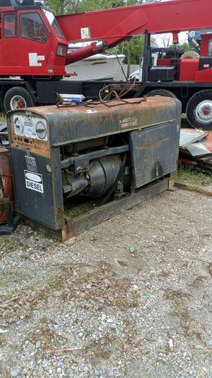 Lincoln diesel welder generator for Sale in Lake Shore, MD