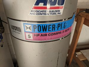 Campbell Hausfeld 5HP air compressor for Sale in Anaheim, CA