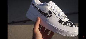 Louis Vuitton air forces for Sale in Brockton, MA