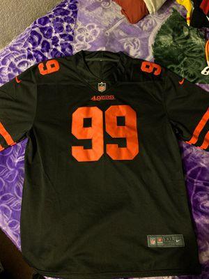 Deforest Buckner #99 Black Alternative 49ers Jersey for Sale in San Francisco, CA