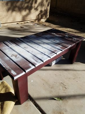 Wooden Coffee Table for Sale in Peoria, AZ