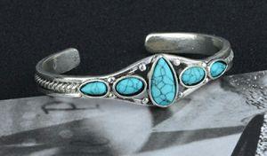 Vintage Style 925 Sterling Silver Turquoise Bracelet for Sale in Wichita, KS