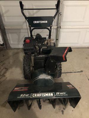 Craftsman heavy duty snow blower for Sale in Utica, MI