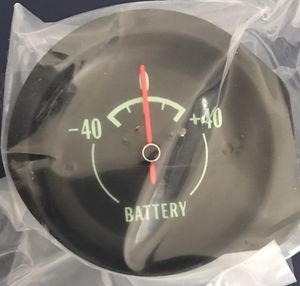 1968 CORVETTE SPECIFIC GREEN LIGHT BATTERY GAUGE GM ORIGINAL NEW UNUSED IN ITS BOX for Sale for sale  San Diego, CA