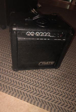 Crate 15w amplifier for Sale in Miami, FL