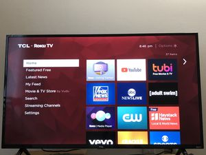 "TCL 50"" class 4K UHD LED Roku Smart TV 4 Series for Sale in St. Joseph, MI"