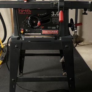Craftsman 10 Inch Table Saw *Pending* for Sale in Tacoma, WA