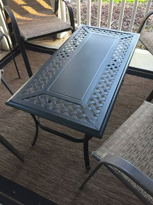 Patio table: Hampton Bay - Fall River Coffee Table for Sale in Durham, NC