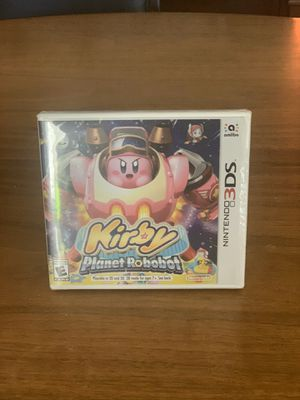 Kirby Planet Robobot Nintendo 3DS Game NEW! for Sale in Colorado Springs, CO