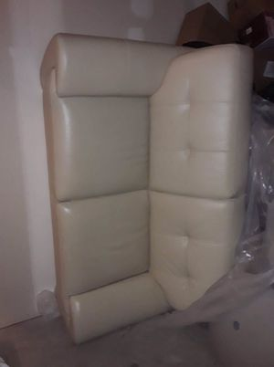 White Leather Couches for Sale in Clermont, FL