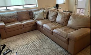 Leather Sectional Couch for Sale in Phoenix, AZ