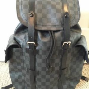 SELL TODAY - Pre Owned LOUIS VUITTON Damier Graphite Christopher Backpack PM for Sale in New York, NY
