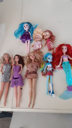 Barbies, dolls for Sale in Victorville, CA