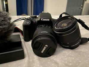 Canon camera and bag for Sale in San Antonio, TX