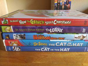 Dr suess dvd bundle for Sale in Aberdeen, WA