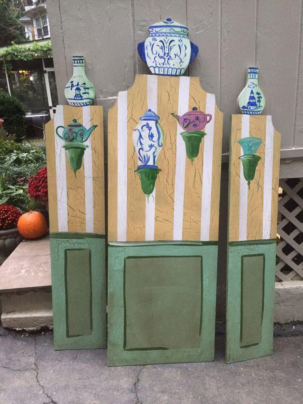 Painted wooden screen - Ballard Designs McLean
