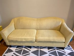 Yellow Chevron La-Z-Boy Couch Sofa for Sale in Washington, DC