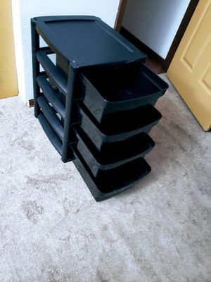4 drawer Plastic Container for Sale in Elgin, IL