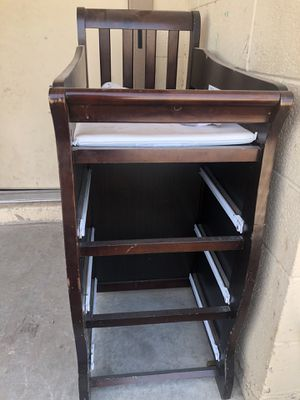 Crib with changing table for Sale in Bapchule, AZ