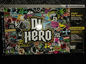 Brand New PS3 DJ Hero Bundle with TWO Turntable for Sale in Goodyear, AZ