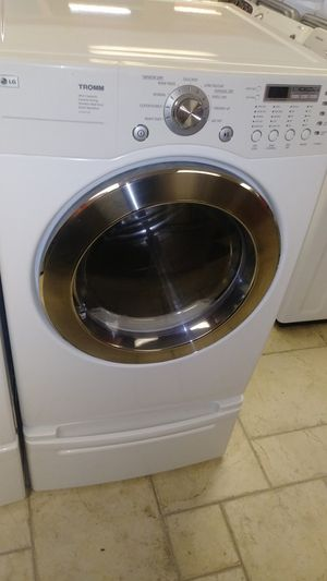 Lg electric dryer front load for Sale in Port Richey, FL