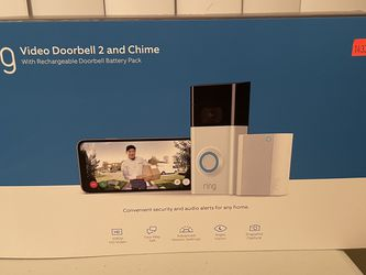 Ring Video Doorbell 2 And Chime for Sale in Chicago,  IL