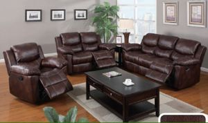 3 pc reclining sofa set for Sale in Orlando, FL
