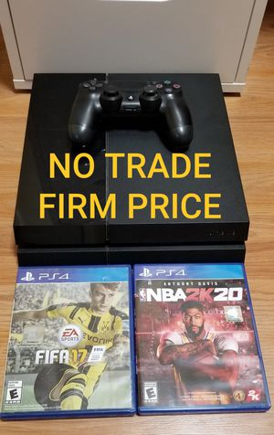 PS4 500GB Bundle, FIRM PRICE, GOOD CONDITION, NO TRADE, READ DESCRIPTION FOR OPTIONS for Sale in Garden Grove, CA