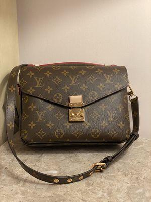 Louis Vuitton LV Monogram Pochette Metis Crossbody Bag Purse Handbag for Sale in Lisle, IL