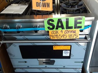 🔹️Viking Stove ⭕PEN SUNDAYS ❤️9*0*9🔸️5*4*5❤️1*8*7*5❤📸SHOW SCREENSHOT IN STORE FOR DISCOUNT💲ASK 4 ANNA💛 for Sale in Hemet,  CA