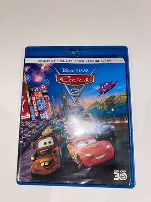 cars 2 dvd and 3d version for Sale in Sugar Land, TX