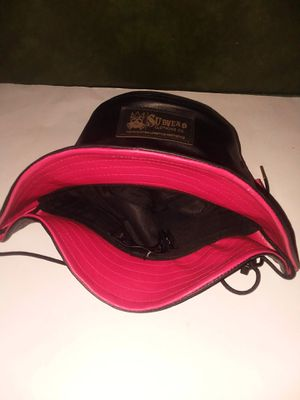 Subvers clothing Leather bucket hat for Sale in Duncanville, TX