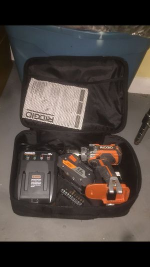 Ridgid Brushless Drill - Charger & Battery for Sale in Washington, DC