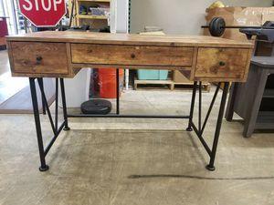 "Coaster Company Writing Desk, Antique Nutmeg/Black, 23.5""L x 47""W x 30.5""H $200 FIRM for Sale in Redlands, CA"