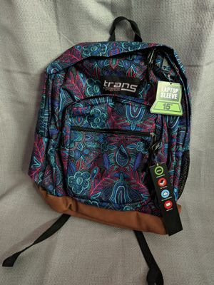 NEW Jansport backpack with laptop sleeve for Sale in Davis, CA