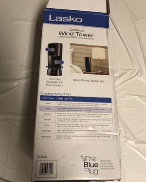 Lasko Desktop Wind Tower Fan for Sale in Norman, OK