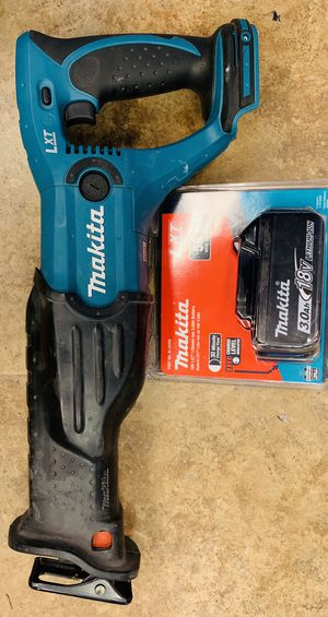 Makita 18V LXT Cordless Sawzall Reciprocating Saw with New Lithium Ion Battery for Sale in Hollywood, FL