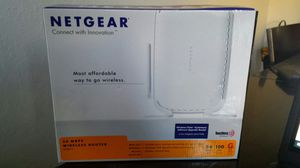 Netgear 54 MBPS wireless router for Sale in Chico, CA