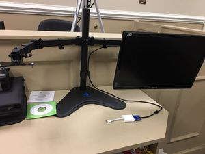 Dual Monitor Stand for Desktop Computers for Sale in Greer, SC
