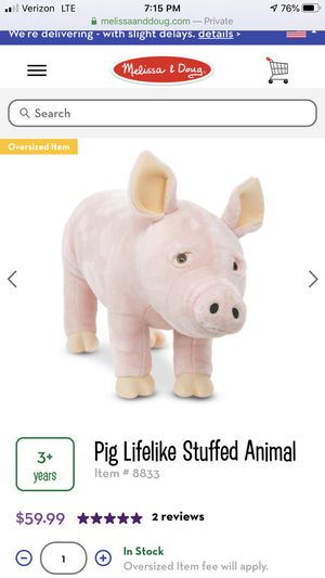 Melissa and Doug Pig for Sale in Midlothian, VA
