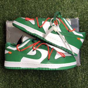 Nike X Off-White Dunk Low Pine Green Size 8.5 for Sale in Elk Grove, CA