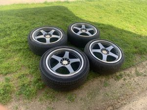 Rims 19's 5 lugs universal 5x114.3 and 5x100 for Sale in Huntington Beach, CA